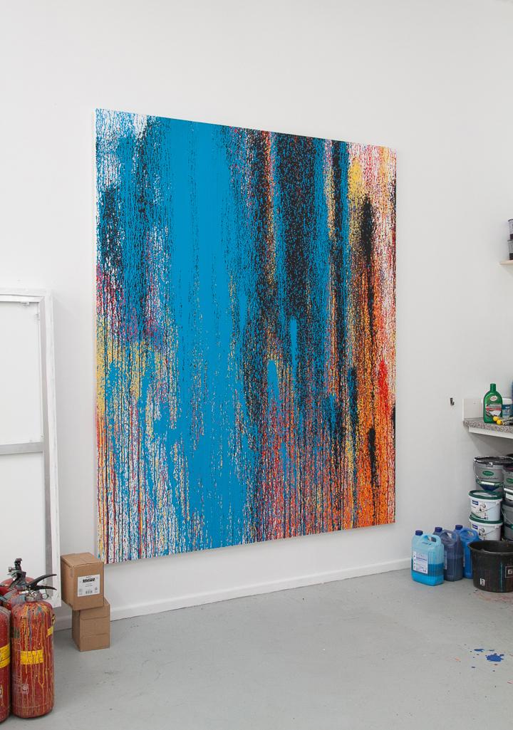 01 © Rutger de Vries, Color Rain I (in situ), 2019, Photo by Rutger de Vries