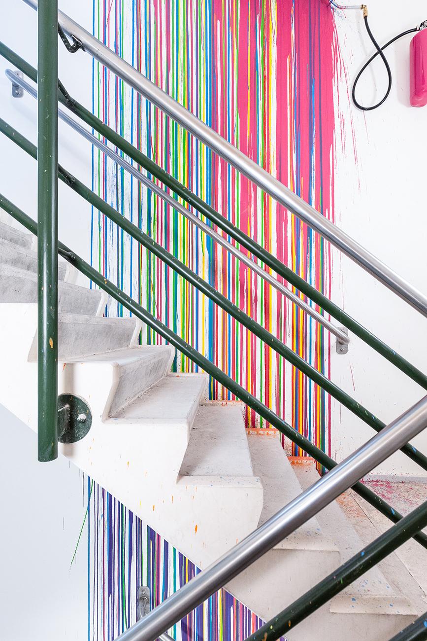 02 © Rutger de Vries, Color Staircase, 2019, Photo by Jan Willem Kaldenbach